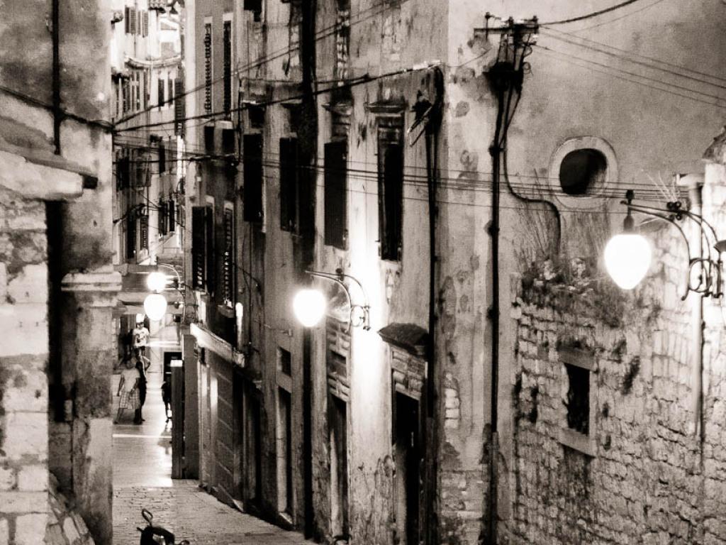 Croazia '11: bianco e nero con viraggio