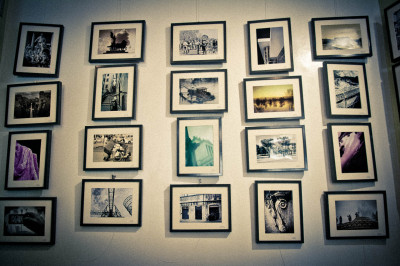 Il racconto dell'allestimeno della nostra piccola mostra all'hop'n art
