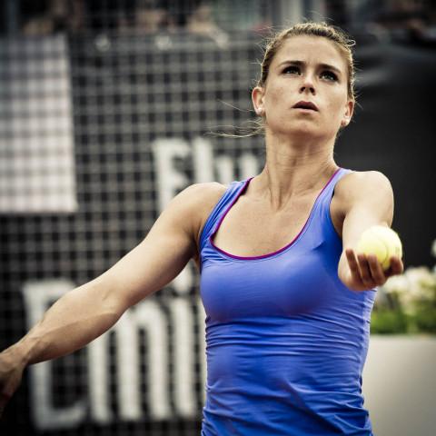 Le più belle foto degli internazionali d'Italia di Tennis
